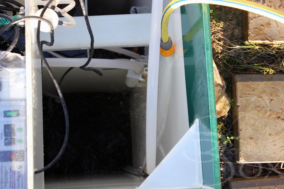 Заполнение водой Юнилос Астра после сервиса