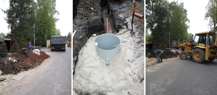 очистка территории канализация