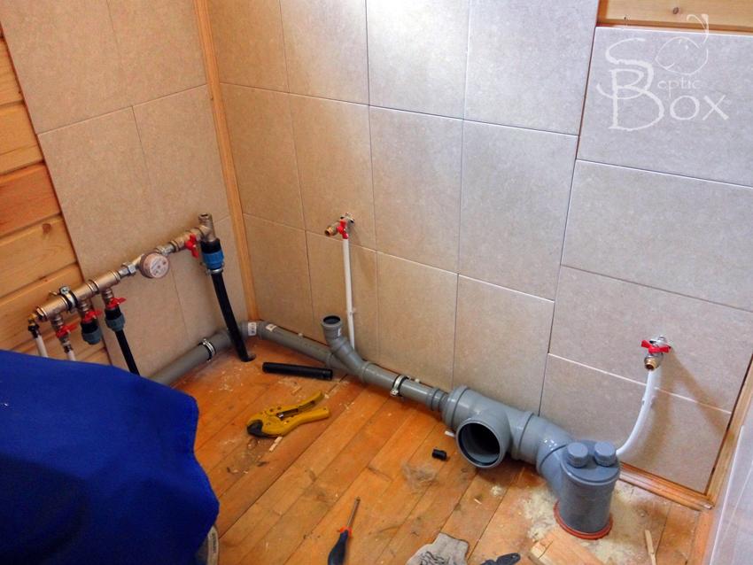 подвод воды сантехника