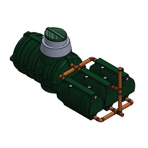 Автономная канализация Rostok коттеджная