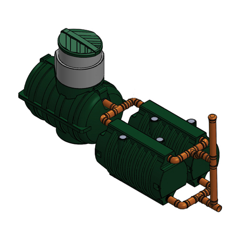 Автономная канализация Rostok Дачная